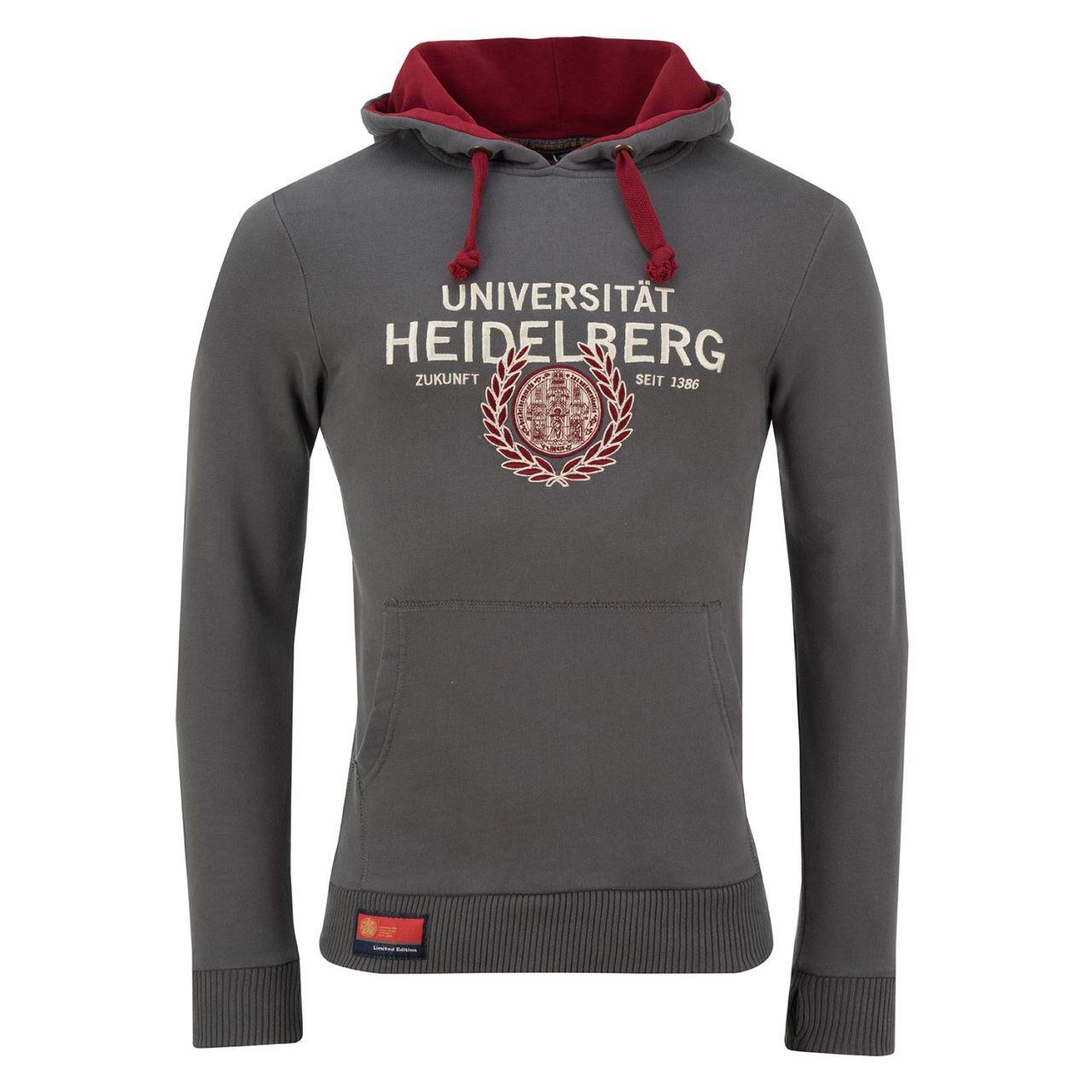 Limited Hooded Sweatshirt, grey, exclusive