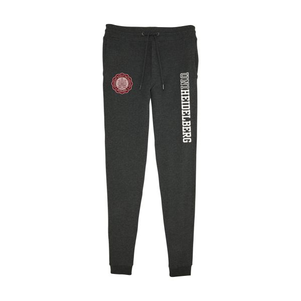 Men's Organic Sweatpants, dark heather grey, seal