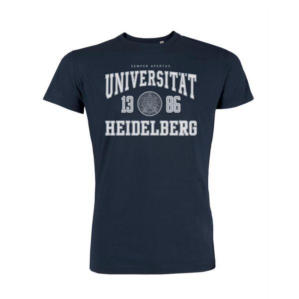 Herren Organic T-Shirt, navy, classic