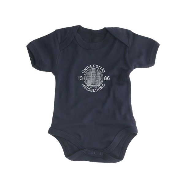 Baby Bodysuit, navy, siegel