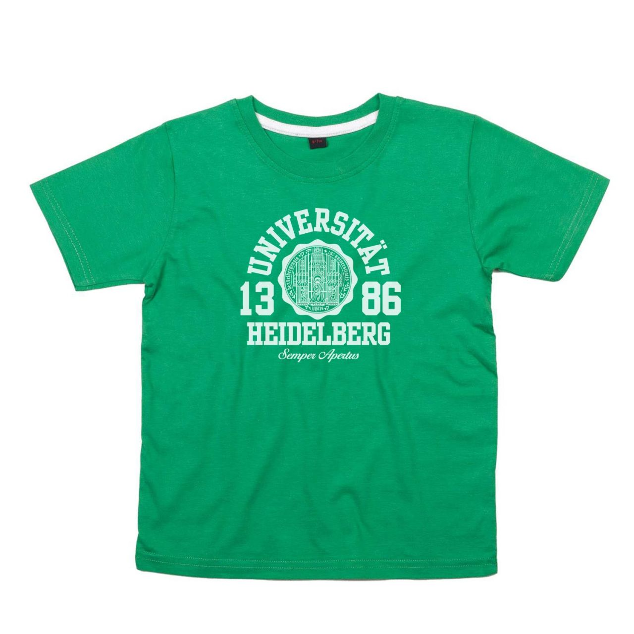 Kids T-Shirt, green, marshall