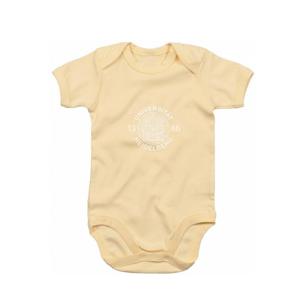 Baby Bodysuit, yellow, siegel