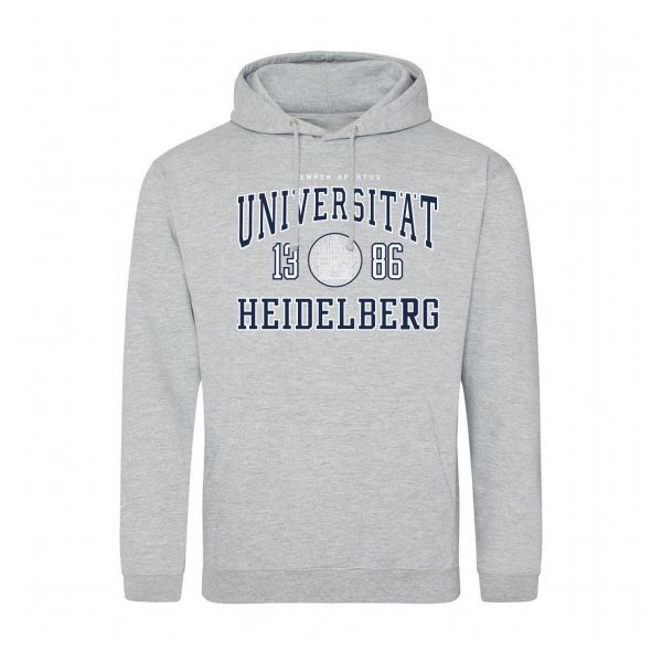 Classic Hooded Sweatshirt, heather grey, classic