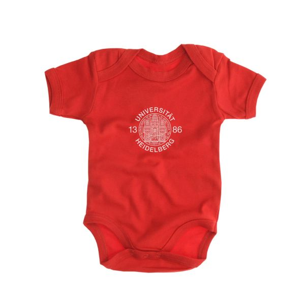 Baby Bodysuit, red, siegel