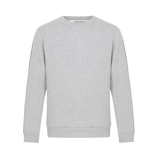 Limited Damen Sweatshirt, heather grey, tape