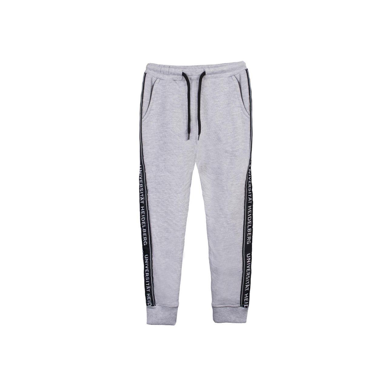 Kids Sweatpants, heather grey, tape