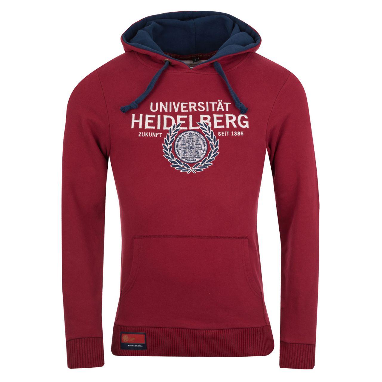 Limited Hooded Sweatshirt, burgundy, exclusive