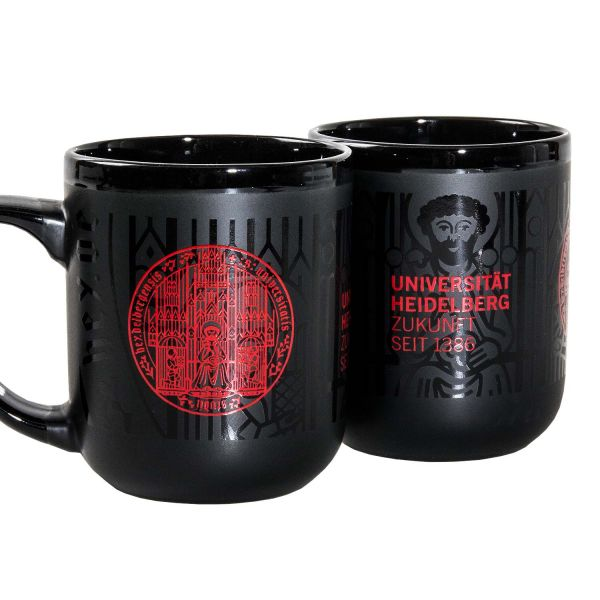 Giant Mug, black, seal