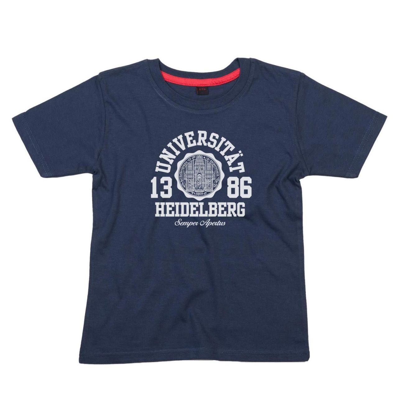Kids T-Shirt, navy, marshall